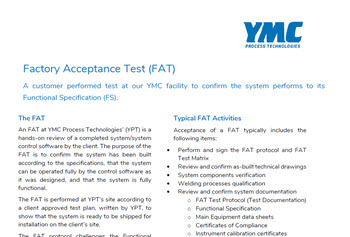 Factory Acceptance Test FAT Services