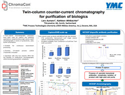 Poster on Continuous Chromatography scaling to GMP